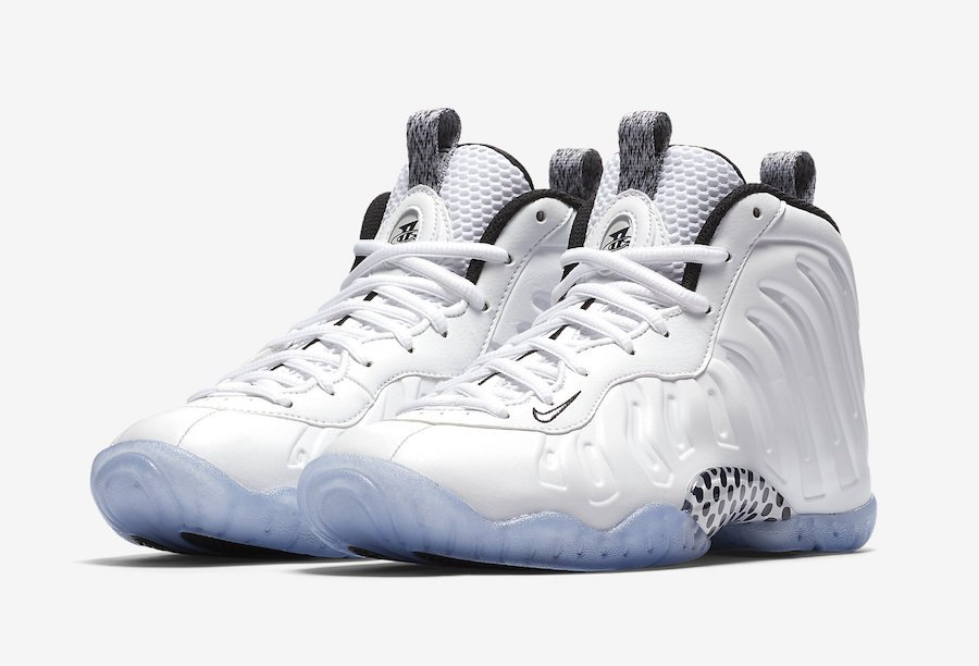 87cee8f43ab Nike Little Posite One White Ice 644791-102 Release Date