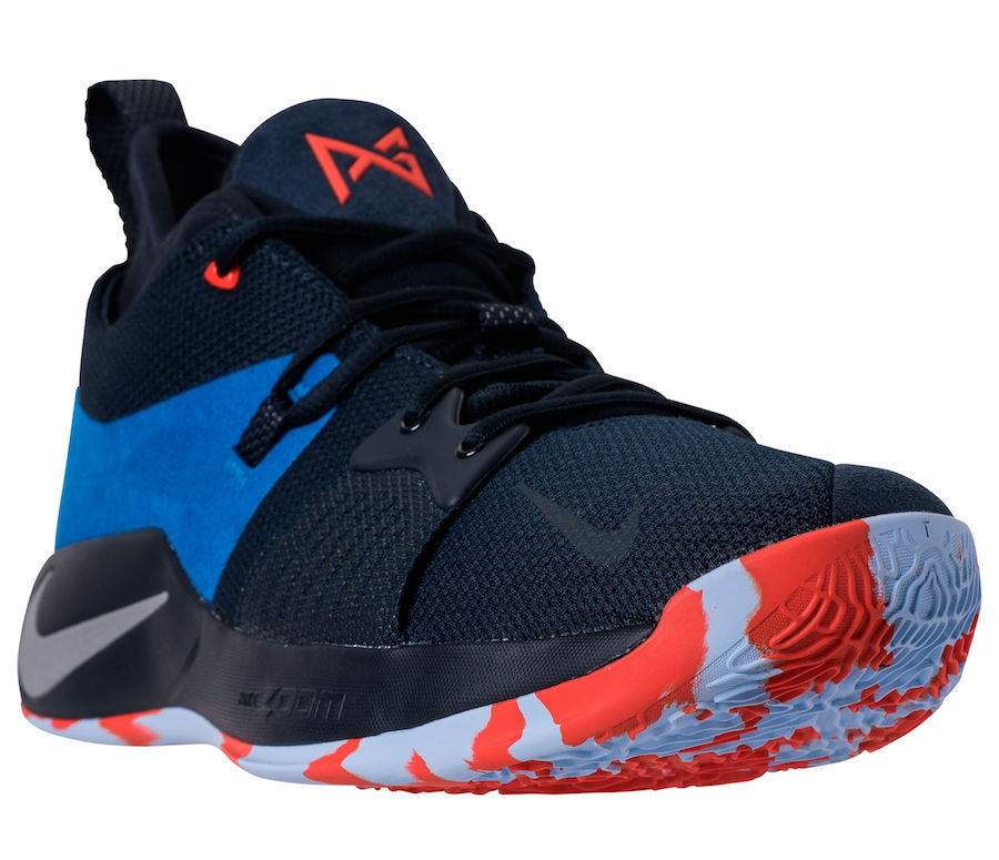 0fd50e024bc Nike PG 2 OKC Home AJ2039-400 Release Date