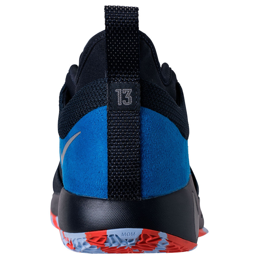 Nike PG 2 OKC Home AJ2039-400 Release Date