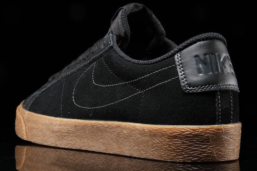 Nike SB Blazer Low Black Gum 864347-002