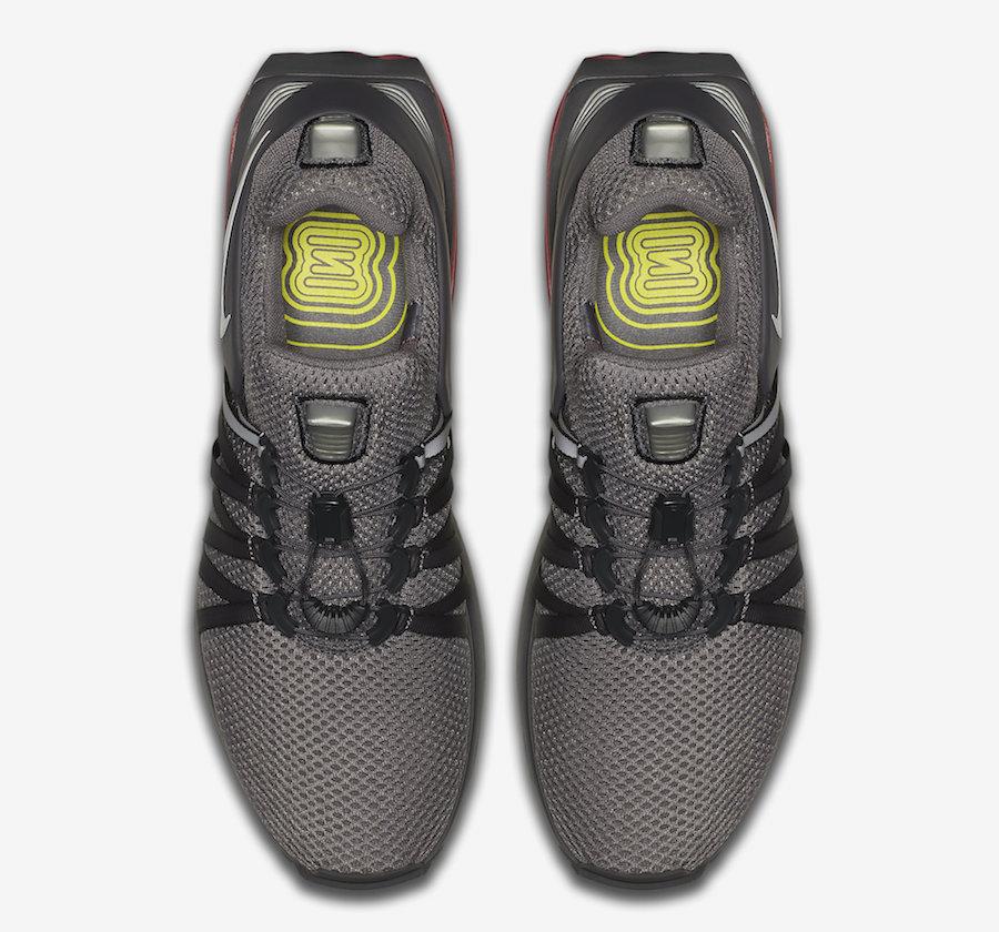 Nike Shox Gravity Grey Yellow Orange AQ8553-006