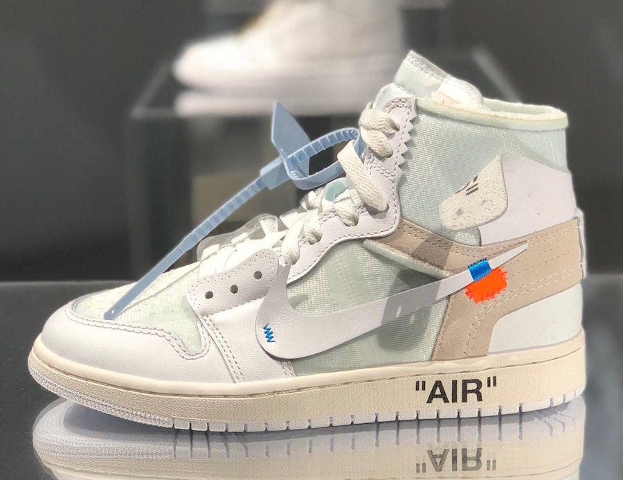 1f7ff4579164 Off-White Air Jordan 1 White Mens Womens Sizes Release Info