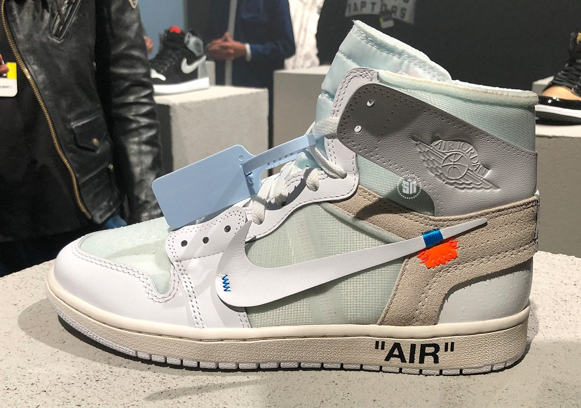 Off-White Air Jordan 1 White Mens Womens Sizes Release Info