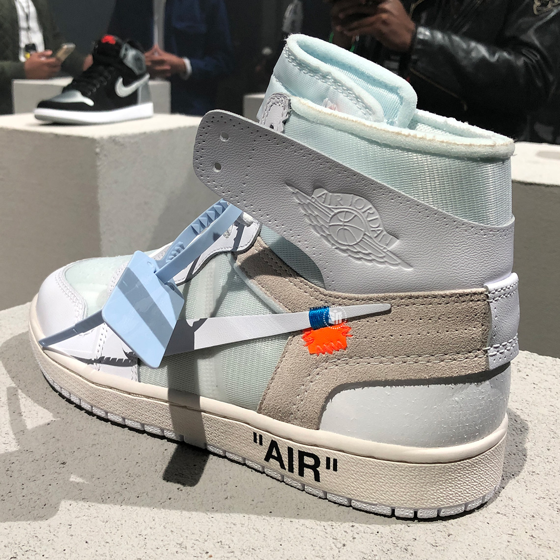 half price best place outlet for sale Off-White Air Jordan 1 White AQ0818-100 2018 | SneakerFiles
