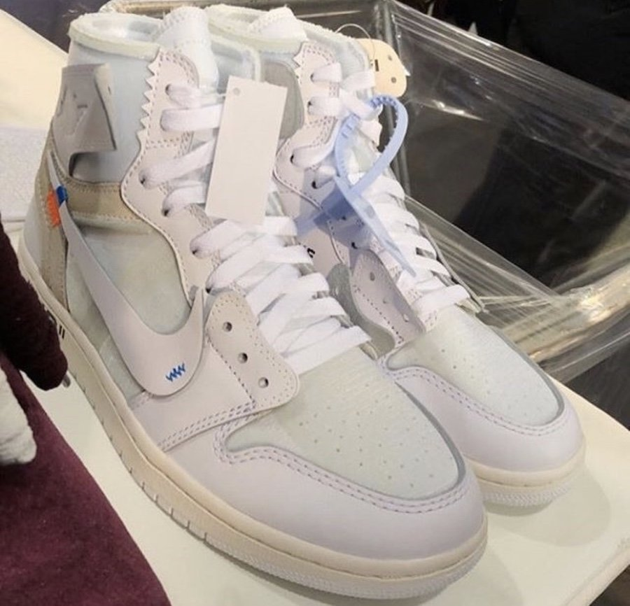 OFF-White Air Jordan 1 White 2018