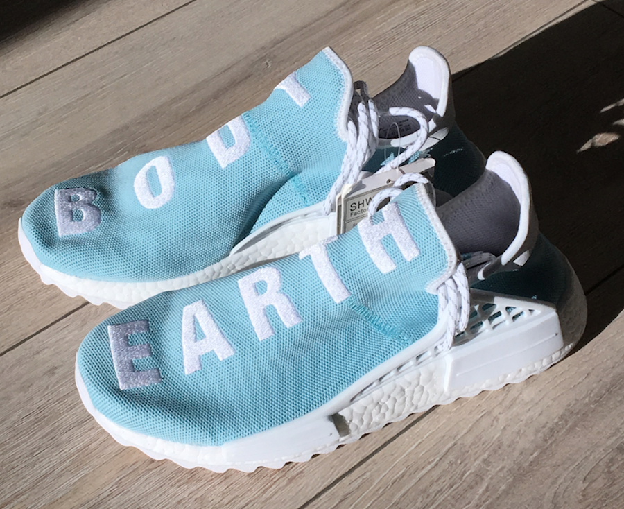 Pharrell adidas NMD Hu Body Earth Blue