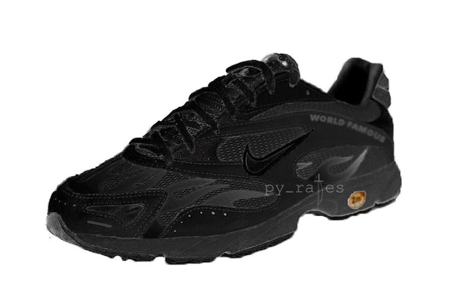 Supreme Nike Zoom Streak Spectrum Plus Pack Black