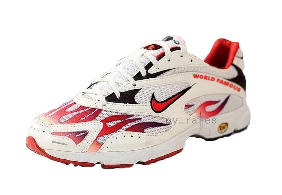 Supreme Nike Zoom Streak Spectrum Plus Pack White Habanero Red