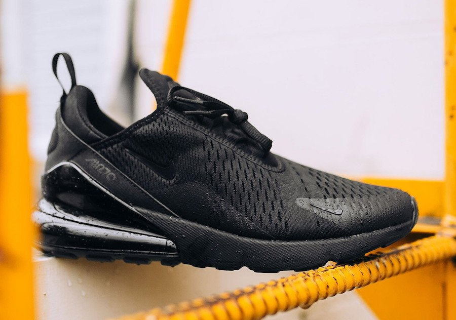 Triple Black Nike Air Max 270