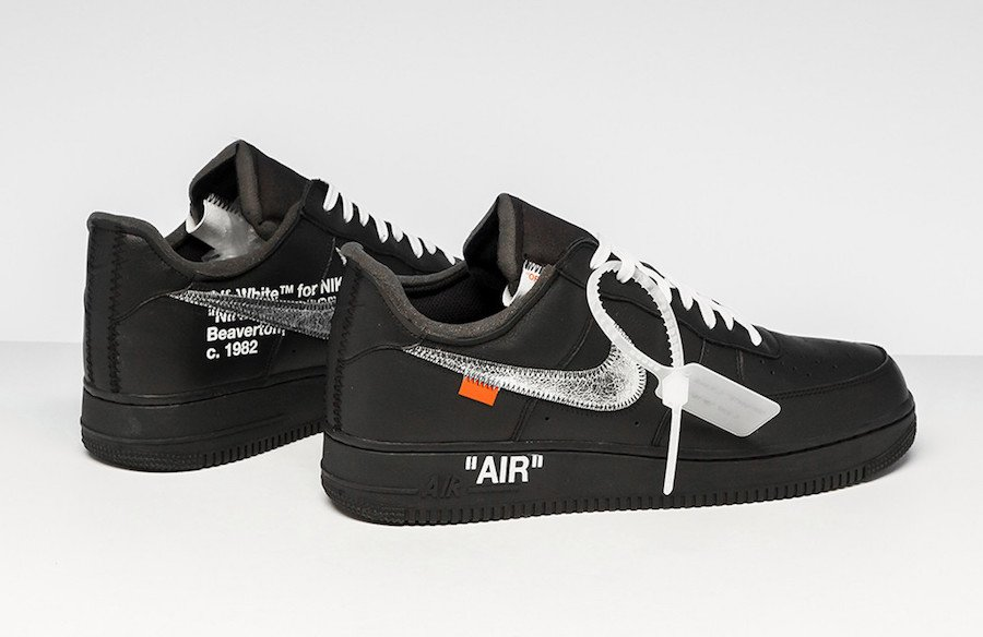 Virgil MoMA Nike Air Force 1 Black Release Info