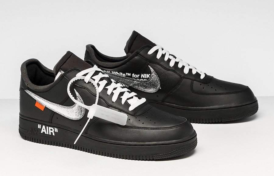 online store c4f8d 6e475 Virgil MoMA Nike Air Force 1 Black Release Info