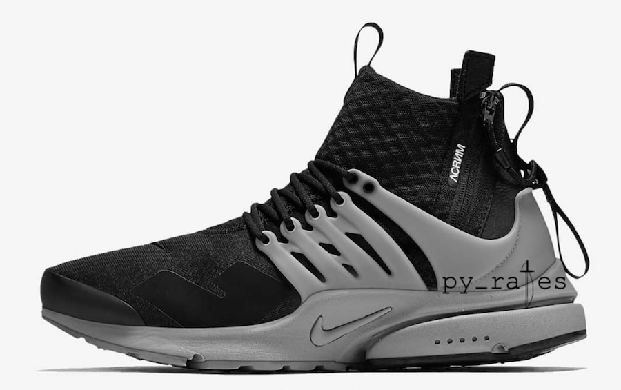 Acronym Nike Air Presto Mid Cool Grey Release Date