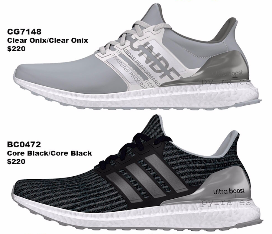 adidas Undefeated Ultra Boost Fall Winter 2018