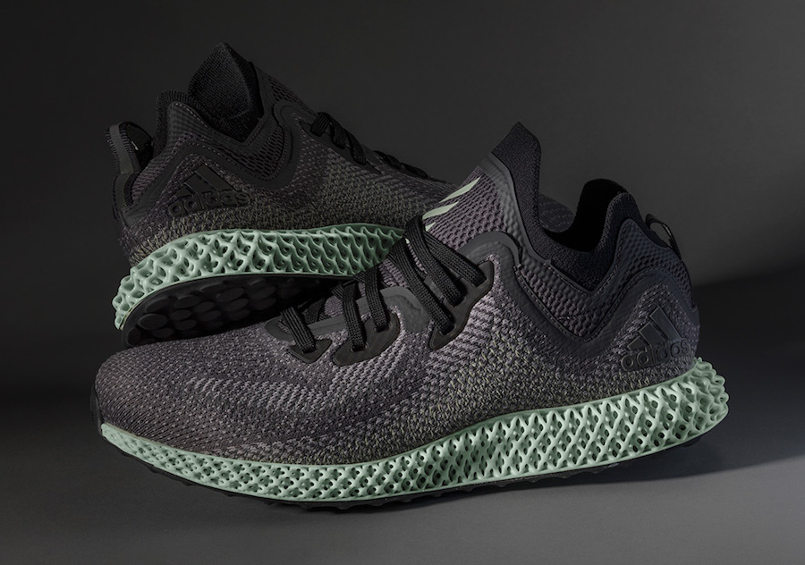 adidas AlphaEdge 4D LTD AC8485 Black Grey Ash Green