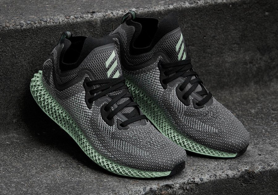 adidas AlphaEdge 4D LTD AC8485 Black Grey Ash Green d1750fc68