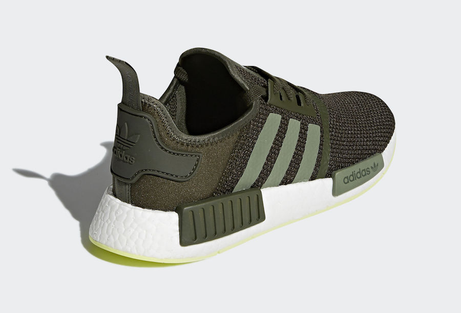 uk availability 62fde fb6ce adidas NMD R1 Night Cargo Semi Frozen Yellow CQ2414 | SneakerFiles