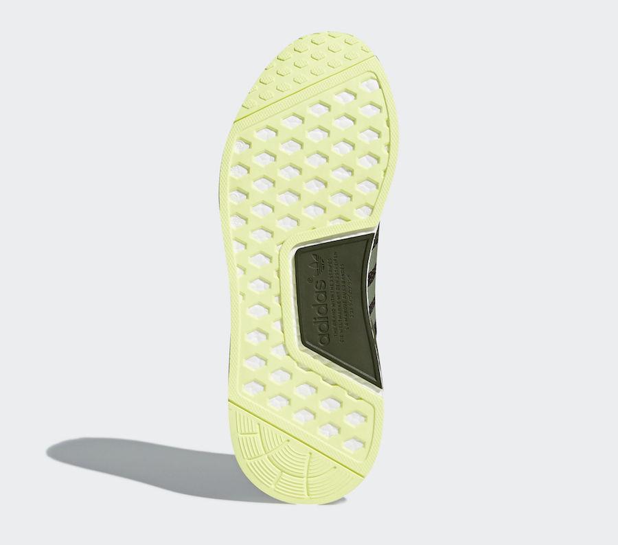 adidas NMD R1 Night Cargo Semi Frozen Yellow CQ2414