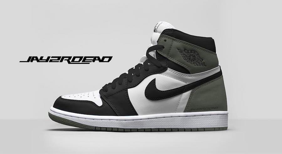 Air Jordan 1 Clay Green 555088-135