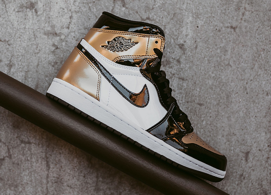 Air Jordan 1 Gold Toe Release Date Info