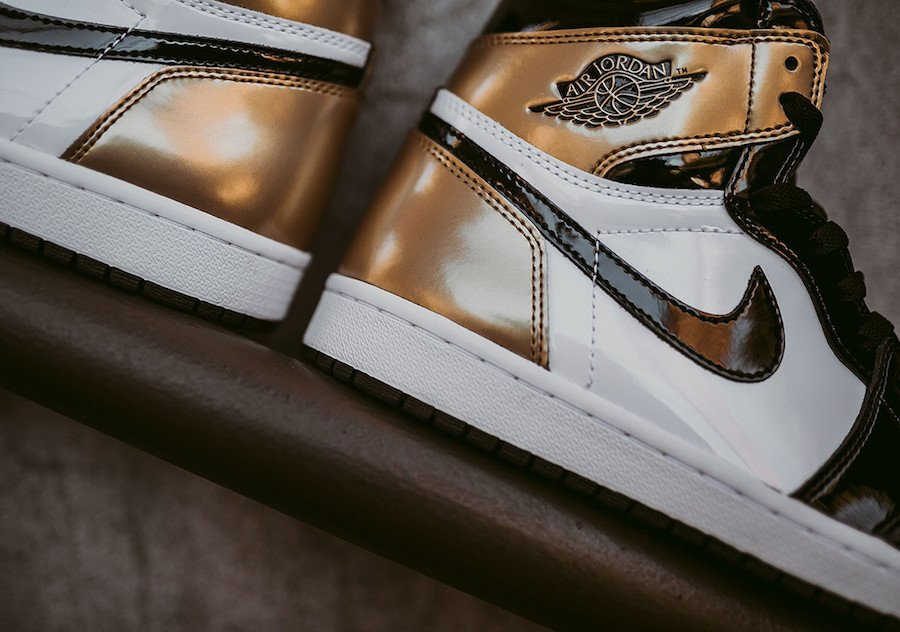 cc79203fe57 Air Jordan 1 Gold Toe 861428-007 Release Date | SneakerFiles