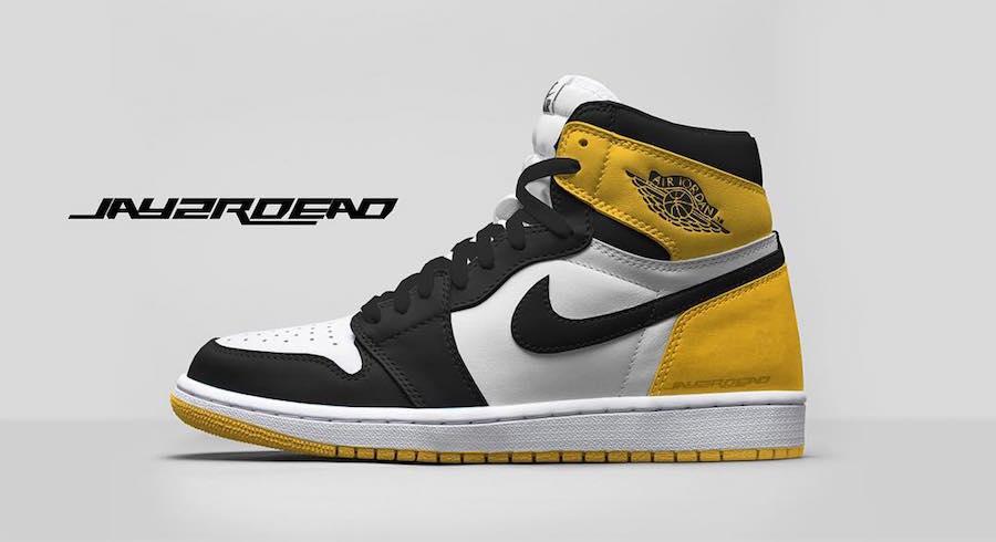 Air Jordan 1 Yellow Ochre 555088-109