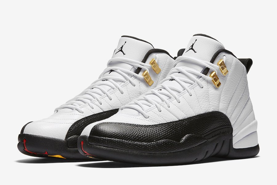 lowest price c8f78 95032 Air Jordan 12 Taxi 130690-125 2018