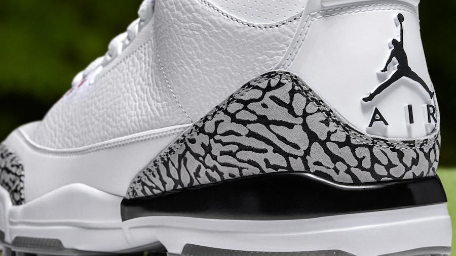 Air Jordan 3 Cement Golf Shoes