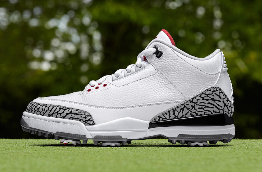 c4129b3a66db Air Jordan 3 Golf Shoes White Cement Bronze