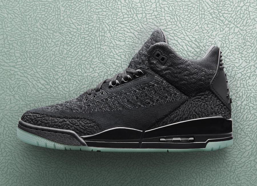 Air Jordan 3 Flyknit Black Release Date AQ1005-001