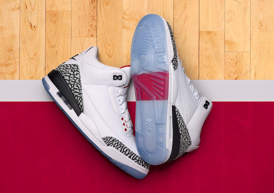 Air Jordan 3 Free Throw Line 923096-101 Release Details