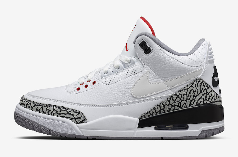 100% authentic 45f42 39c9a Air Jordan 3 JTH Tinker White Cement AV6683-160 | SneakerFiles