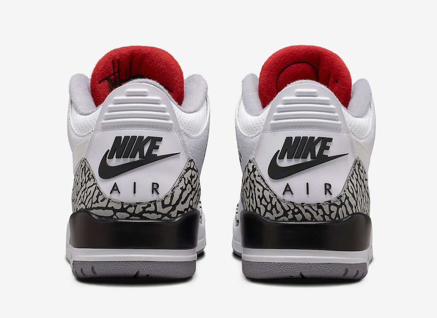 Air Jordan 3 JTH Tinker White Cement AV6683-160