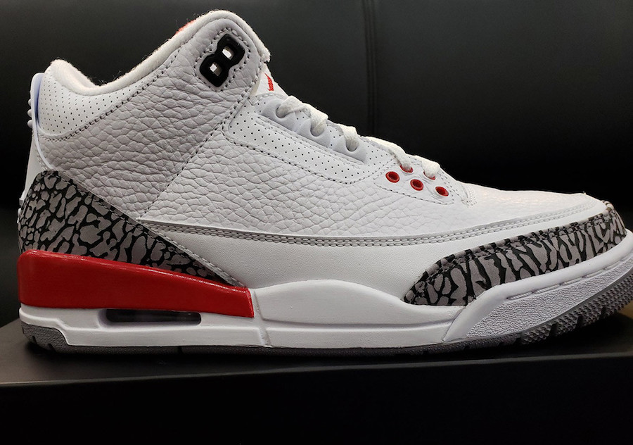Air Jordan 3 Retro Katrina 2018 136064-116