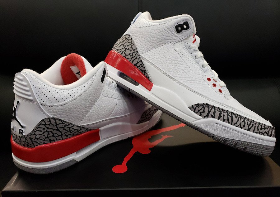 finest selection 961e5 5d027 Air Jordan 3 Retro Katrina 2018 136064-116