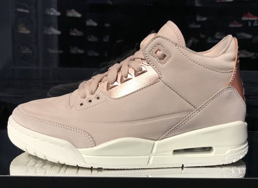 Air Jordan 3 Rose Gold Release Date