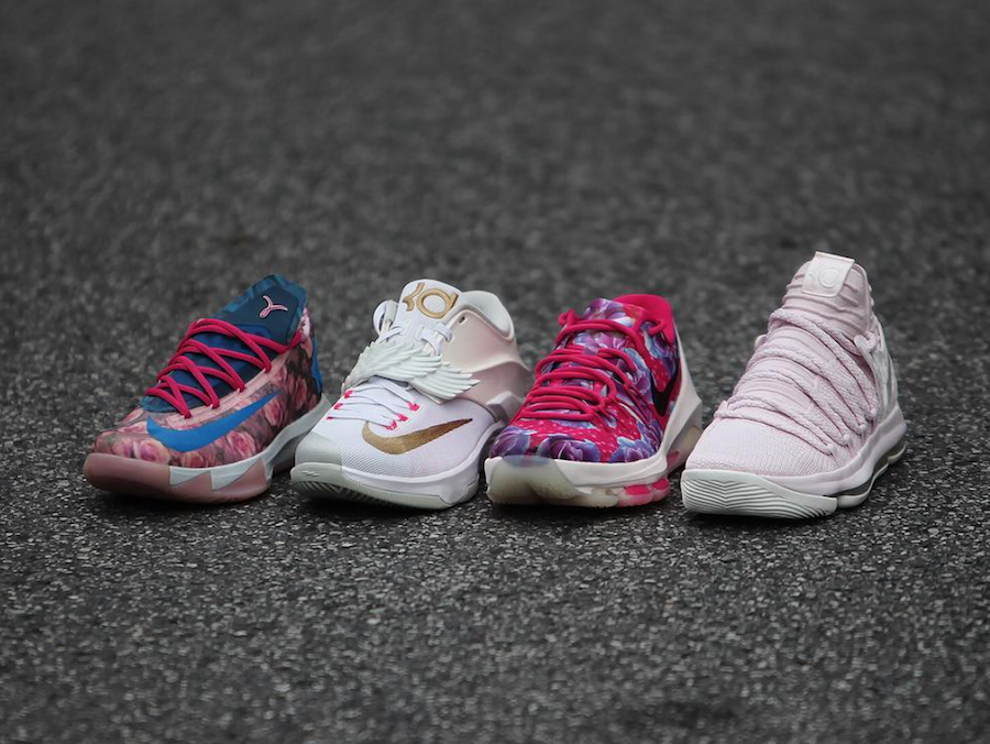 Aunt Pearl Nike KD 10 Pink Release Date