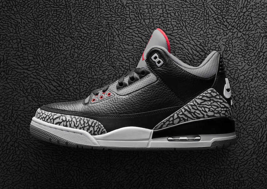 Black Cement Air Jordan 3 OG