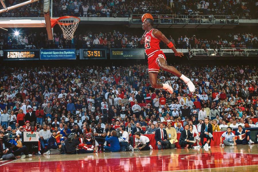 Free Throw Line Air Jordan 3 Michael Jordan 1988
