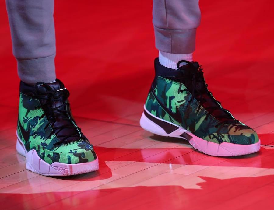 Giannis Antetokounmpo Undefeated Nike Zoom Kobe 1 Protro