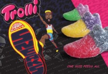 James Harden Trolli Sour Brite Sneaks Candy