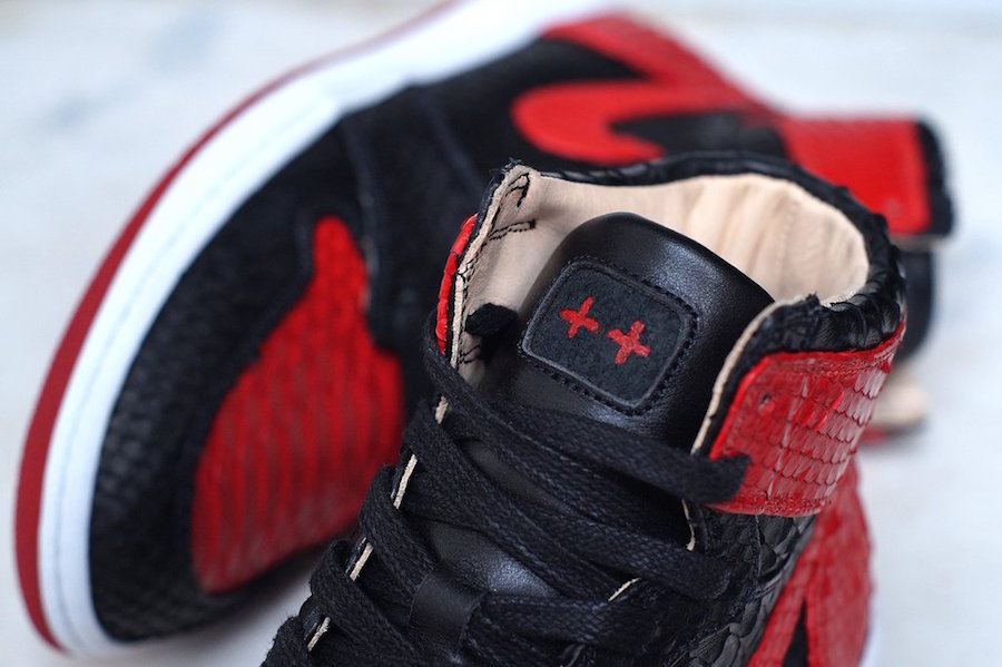 JBF Customs Python Air Jordan 1 Banned