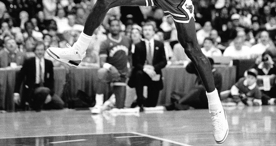 Michael Jordan Free Throw Line 1988