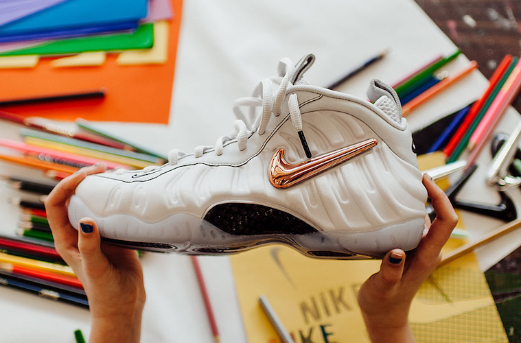 Detailed Look at the Nike Air Foamposite Pro 'All-Star' with Removable Swoosh Logos