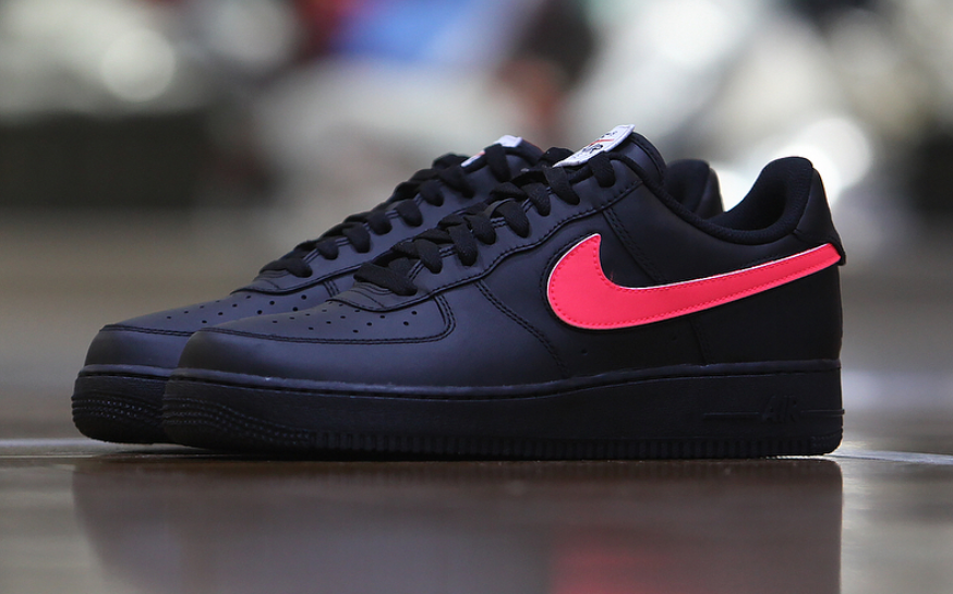 Nike Air Force 1 All-Star Velcro Swoosh Straps Black