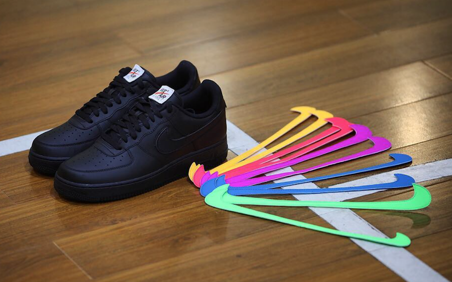 promo code 312e4 86acd Nike Air Force 1 All-Star Black Release Date | SneakerFiles