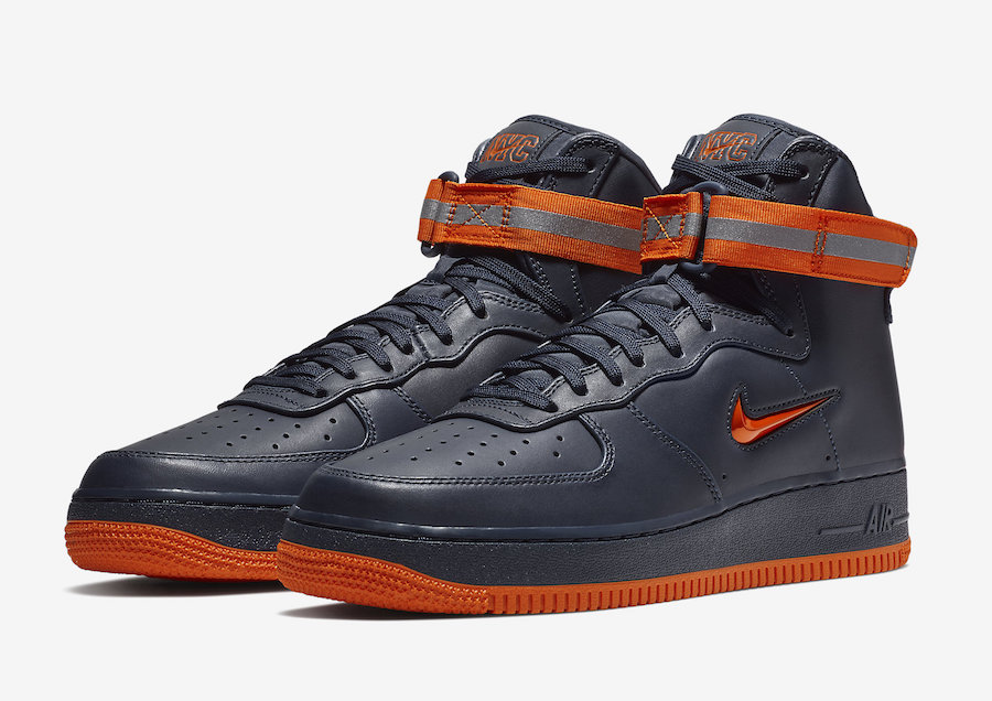 Nike Air Force 1 High NYC Finest FDNY AO1636-400