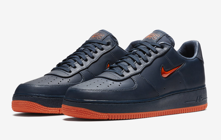 Nike Air Force 1 Low NYC Finest FDNY AO1635-400