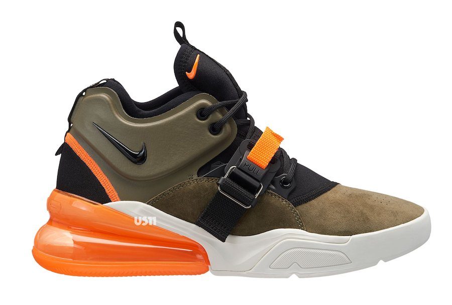 Nike Air Force 270 Colorways Releases
