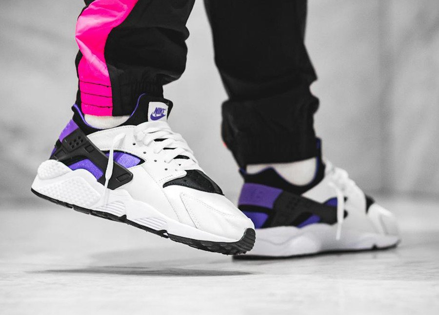 648c370801dfe Nike Air Huarache Purple Punch AH8049-001 Release Info