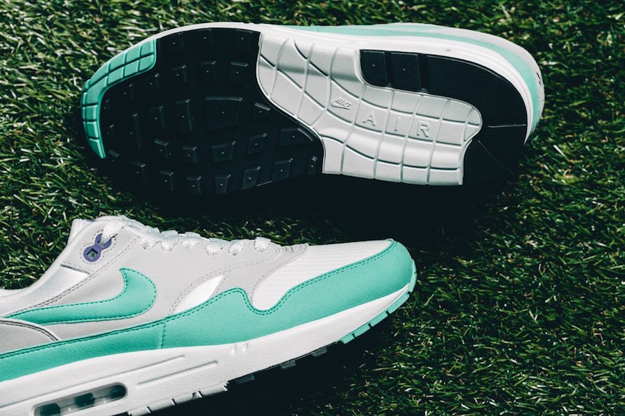 Nike Air Max 1 Anniversary Aqua 908375-105 Release Date